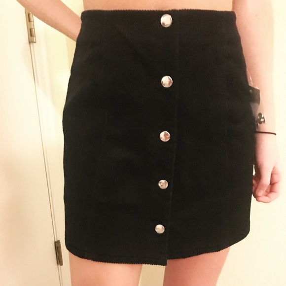 993110a45 Forever 21 Skirts | Button Down Skirt With Tags | Poshmark